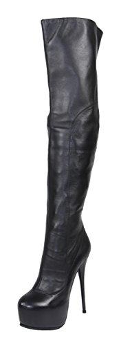 AROLLO Plateau Overknee Stiefel ANNA3 (41)