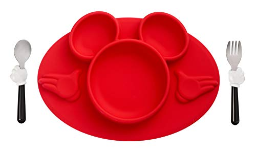 The First Years Disney Mickey Mouse 3-Piece Mealtime Set