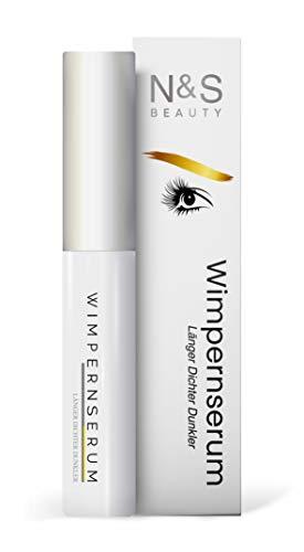 N&S Beauty 7 ml Wimpernserum & Augenbrauenserum - Wachstumsserum für voluminöse Wimpern - Serum für Eyelash growth & Wachstum