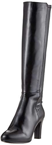 Unisa Damen Natalie_NA_STN Hohe Stiefel, Schwarz (Black Black), 41 EU