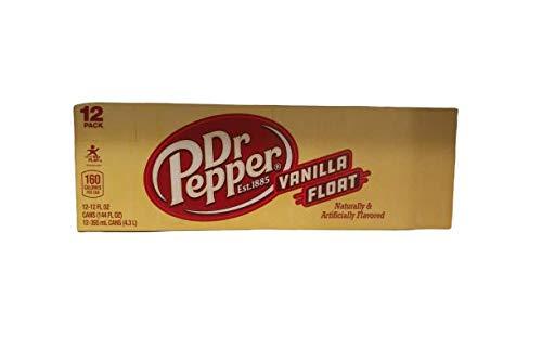 Dr Pepper Vanilla Float 12oz (355mL) - 12pack