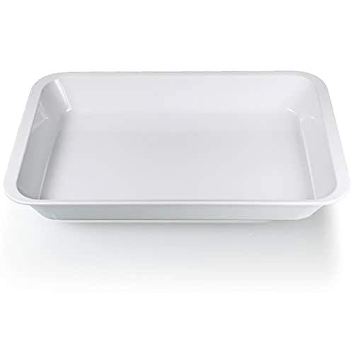GiòStyle Vaschetta Rettangolare 30X20X4 cm bianco