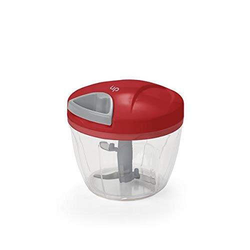Mini Processador Triturador de alimentos Manual a Corda 3 Lâminas - UD002