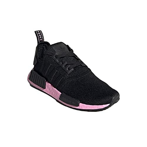 adidas NMD_R1 W, Scarpe da Ginnastica Donna, Core Black/Core Black/True Pink, 38 2/3 EU