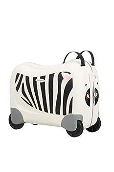 Samsonite Dream Rider Bagage Enfant, 51 cm, 28 L, Blanc (Zebra Zeno)