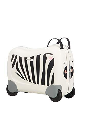 Samsonite Dream Rider Valigia per Bambini, 51 cm, 28 l, Bianco (Zebra Zeno)