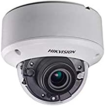 HIKVISION DS-2CC52D9T-AITZE 2MP Ultra Low Light PoC Indoor IR Dome Camera with 2.8-12 mm Motorized Lens, Weatherproof Camera.