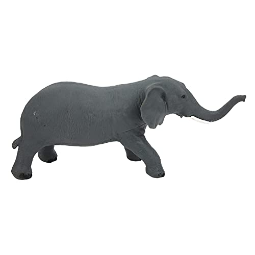 GLOGLOW Animal Elephant Model, Children Kids Statue Elephant Cute Animal Model Realistic Simulated Toy Simulated Wild Animals Model