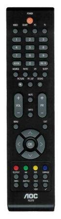 Fernbedienung RL57B für LCD TV AOC