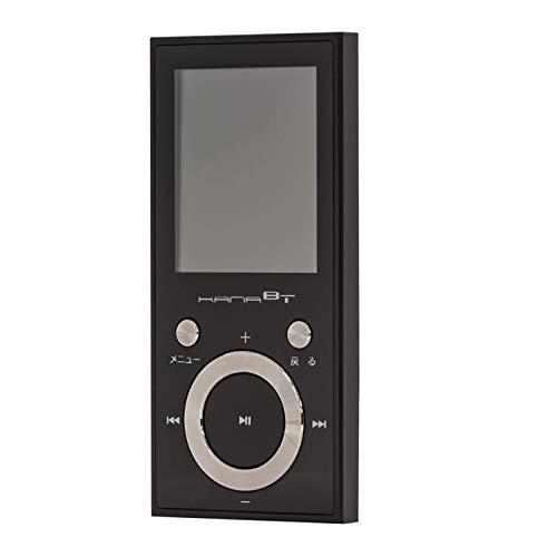 グリーンハウス MP3プレーヤー ワイドFMラジオ ボイスレコーダー ブルートゥース対応 デジタルオーディオ GHーKANABTC16ーBK/2910 x1台