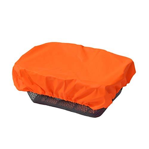 Protection anti-pluie Nice'n'dry pour panier de vélo , orange fluo