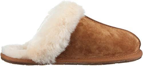 UGG W Scuffette II, Zapatillas de Estar por casa Mujer, Marrón (Chestnut), 36 EU
