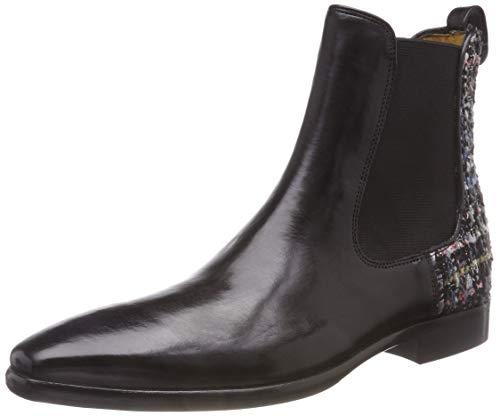 Melvin & Hamilton Damen Emma 8 TM Chelsea Boots, Schwarz (Crust/Duke (1) / Spank (2) / Ela Black/HRS...