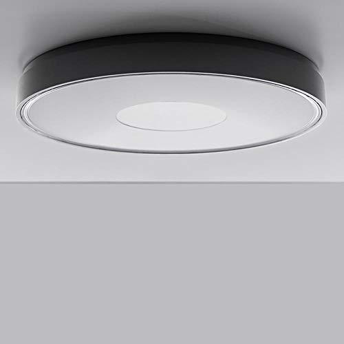IVELA LED Aussendeckenlampe PN280 IP65 3800lm Schwarz Aussen-Deckenlampe