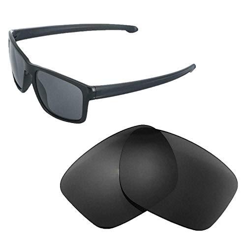 sunglasses Restorer Vervangende glazen voor Oakley Sliver | Gepolariseerde glazen (Black Iridium | Polarized)