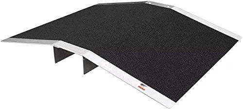 Rampas GGJIN umbral al Aire Libre, de Aluminio de aleación multifunción portátil Silla de Ruedas accesibilidad se Puede Mover aceras de la Junta