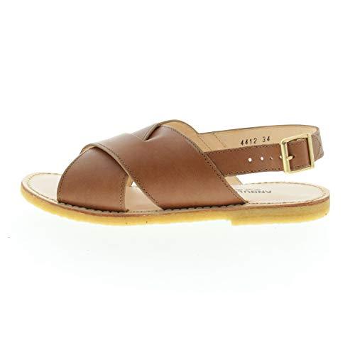Angulus Schuhe für Mädchen Sandalen Hellbraun 44121011789 (Numeric_34)