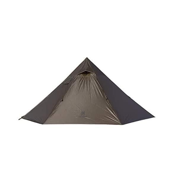 OneTigris Iron Wall Stove Tent with Inner Mesh, Weighs 3.4Ib