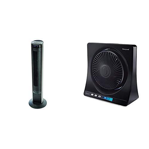 Honeywell HO-5500RE oszillierend Turmventilator & Quietset table fan