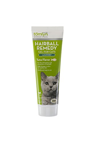 Tomlyn Hairball Remedy (Laxatone®) Tuna Cats, 4.25 oz