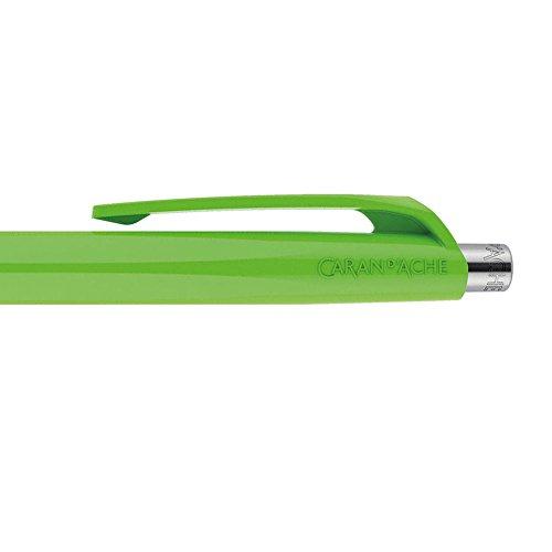 Caran d'Ache 888 Infinite Ballpoint Pen, Spring Green Resin Hexagonal Barrel (888.470) Photo #3