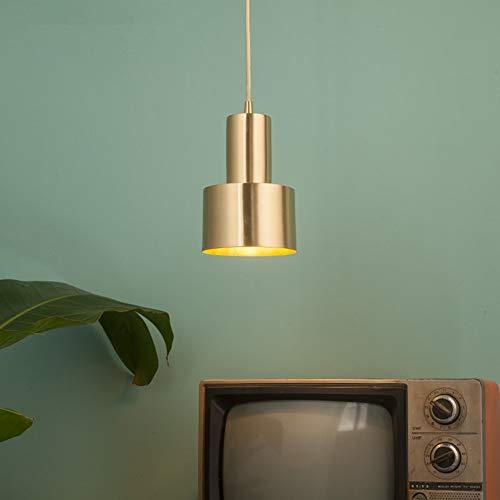 MMDJ Metalen kandelaar E27 Single Head koper Verstelbare knoopsoort Retro Restaurant Bar Slaapkamer Spiegel Frontlamp hanglamp
