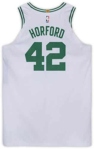 Al Horford Boston Celtics Game-Used #42 White Jersey vs. Portland Trail Blazers on February 27, 2019 - Size 54+6 - NBA Game Used Jerseys