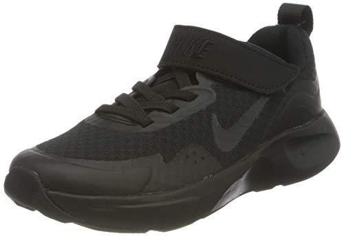 Nike Wearallday (PS), Sneaker, Black/Black-Black, 32 EU