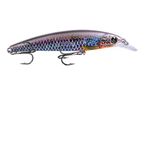 Webla - Señuelos de pesca Cebo Pesca Acero Alto carbono Manivela Ganchos de cebo Ataque bajo Ganchos de hundimiento