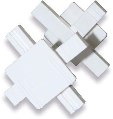 25 Stück Verlegekreuze Fugenkreuze für Glasbausteine in 8cm Stärke für 6mm breite Fugen