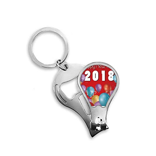 DIYthinker 2018 Ballon Jaar van de hond Gelukkig Nieuwjaar Toenail Clipper Cutter