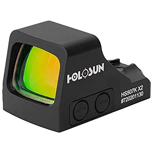 HOLOSUN - HS507K-X2 Classic Multi Fadenkreuz Red Dot Sight (schwarz)