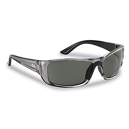 4002800 Flying Fisherman Buchanan Crystal Gunmetal W/Smoke Sunglass