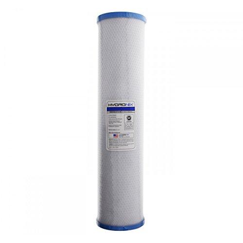 Hydronix SMCB-4520 NSF Coconut BIG BLUE Carbon Block Cyst Water Filter, 4.5' x 20' - 0.5 micron
