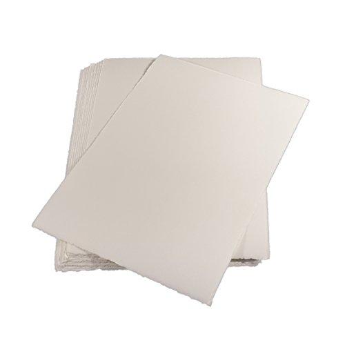 Echt Bütten Karten A6, 20 Stück