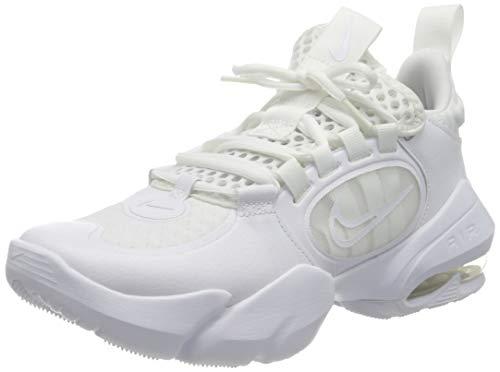 Nike Air Max Alpha Savage 2, Scarpe da Ginnastica Uomo, Bianco, Bianco, Nero, 38.5 EU