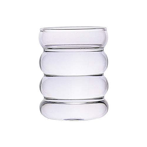 Jarra de cristal japonesa para leche, azucarero, jarra de cristal para leche, crema, salsa, té, leche, café, zumo de vino (300 ml, estilo 4)