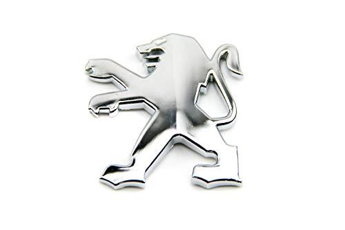 Emblem LÖWE Silber/Chrom Optik zum Aufkleben