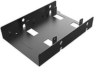 Sabrent 2.5 Inch to 3.5 Inch Internal Hard Disk Drive Mounting Bracket Kit (BK-HDDF)