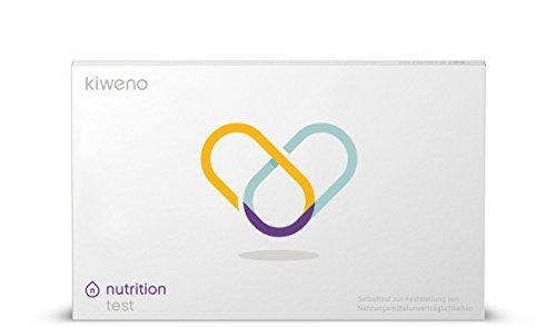 kiweno® Unverträglichkeiten + Histamin Intoleranz Kombi-Test Kit | Histamin & Nahrungsmittel Unverträglichkeit selbst testen | einfach & schnell Histaminwert bestimmen | 1 Stk