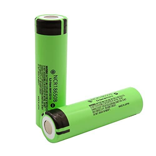 Batería 18650 NCR18650B 3.7V 3400 mah Batería Recargable de Litio 18650 para baterías de Linterna 4PCSBattery