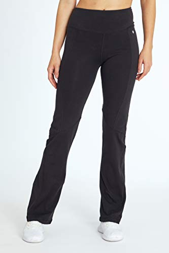 "Bally Total Fitness Women's Ultimate Slimming Pant 32"", Black, X-Large"