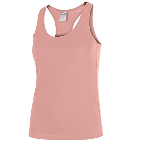Joma Larisa Camiseta Tirantes, Niñas, Rosa, XS