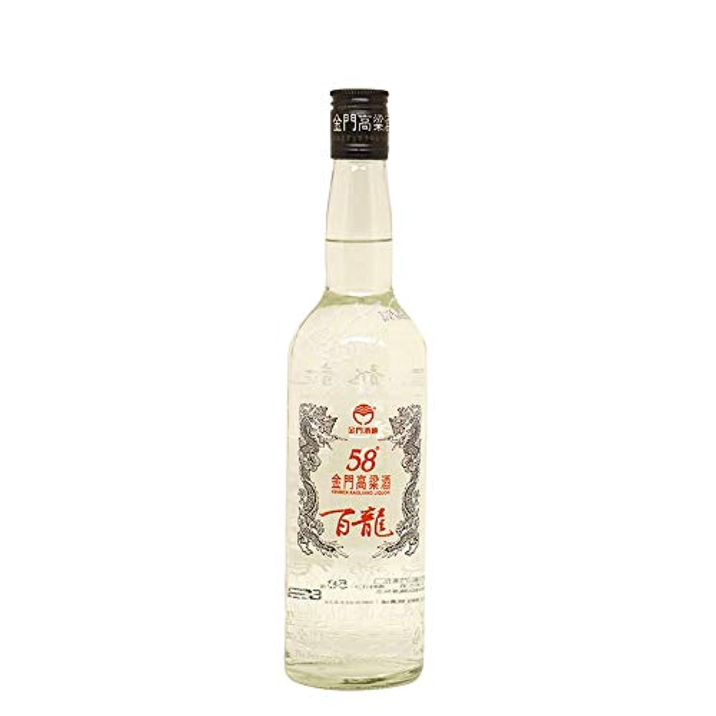 単調な和らげる憎しみ金門百龍高粱酒58度600ml