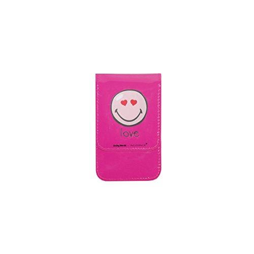 Incidence Paris - Pochette a tracolla Nomade Happy Colors Love, 23 cm, colore: Rosa