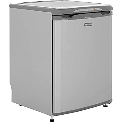 Hotpoint FZA36G 73 Litre Freestanding Under Counter Freezer Frost Free 60cm Wide - Grey