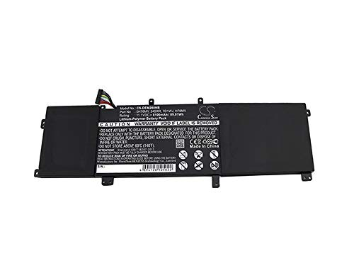 Replacement Battery for DELL Precision M2800, XPS 15 9530 11.1V/8100mA