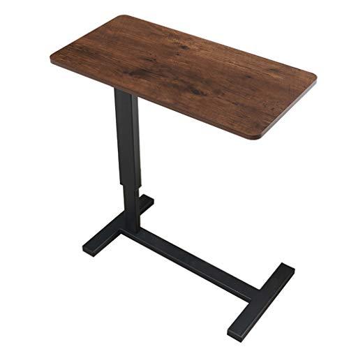 C&X Tavolino da Tavolo per Laptop Carrello da Tavolo per Ospedale Tavolo Girevole Tavolo per Laptop Tavolo Regolabile in Altezza per Laptop, casa di Cura