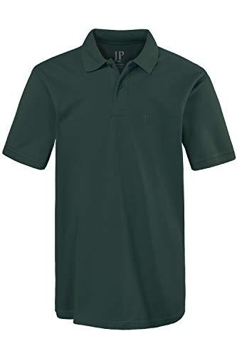 JP 1880 Herren große Größen bis 8XL, Poloshirt, Oberteil, Knopfleiste, Hemdkragen, Pique, dunkelgrün 6XL 702560 40-6XL