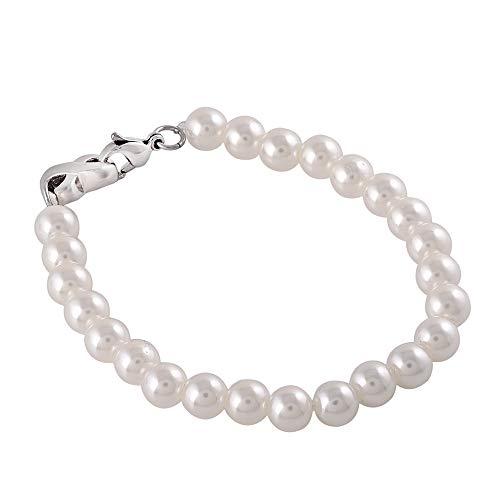 Urn armband voor de Ashes, parel Armband met Infinity Urn Charm RVS Crematie armband voor vrouwen